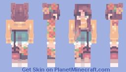 Spring Sunshine Minecraft Skin
