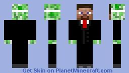 Spy Creeper Minecraft Skin