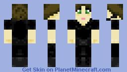 Spy Girl Minecraft Skin