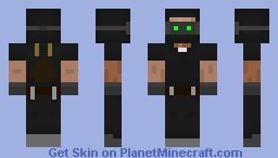 Spy/Robber/Thief Minecraft Skin