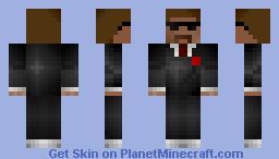 Spy-Shaded-I'm Back!!! Minecraft Skin