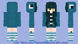 ~Squid Girl~ Minecraft Skin