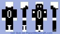 Black Robot Minecraft Skin