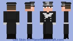 SS - Rottenführer, SS - Allgemeine ( 𝘔32 𝘰𝘷𝘦𝘳𝘤𝘰𝘢𝘵 ), 1940 Minecraft Skin