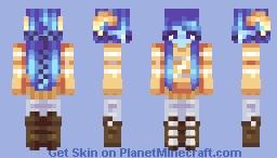 The Golden Winter - Secret Skinners Minecraft Skin