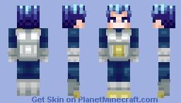 Super Saiyan Blue Evolved Vegeta - Dragonball Super Minecraft Skin