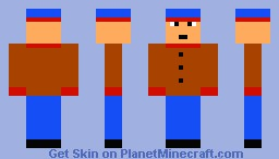 Stan Marsh from South Park Minecraft Skin