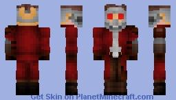 Star-Lord - Vol. 1 Minecraft Skin