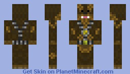 Wookie Minecraft Skin