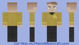 Star Trek TOS Uniform Minecraft Skin