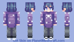 - ✨ Starry: Persona/Personal skin (feel free to casually use) 🎇- Minecraft Skin