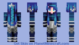 ♡ 𝓿𝒶𝓁𝓀𝓎𝓇𝒾𝑒𝓃 ♡ starry night | rq Minecraft Skin