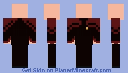 Star Trek MC: Command Uniform (2385) Minecraft Skin