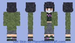 Sinus Gorl, but she's noise. Minecraft Skin