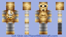 RP skin: Steam-O-Bot [Steampunk robot] Minecraft Skin