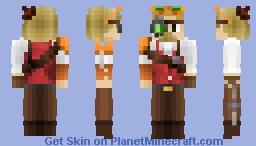 ~ ~ ~ Steampunk Mechanic ~ ~ ~ Minecraft Skin
