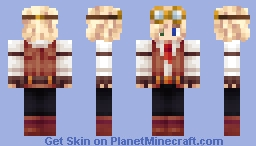 Blonde Steampunk Guy Minecraft Skin