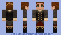 Steampunk Lady Minecraft Skin