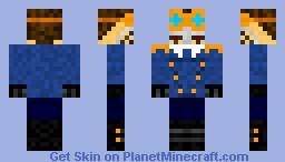 SteamPunk nihilist Pilot Minecraft Skin