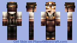 Steampunk Miner [Edit of my Gangster skin] Minecraft Skin