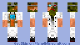 Billy The Evil Scientist - Better in Preview! - contest entry Minecraft Skin