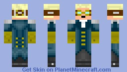 Steampunk man Minecraft Skin