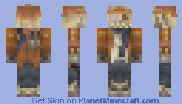 Steampunk Scarecrow Minecraft Skin