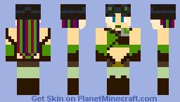 cyberpunk girl  [contest] Minecraft Skin