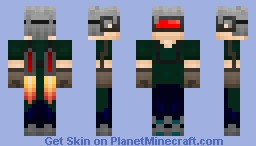 My Cyberpunk Minecraft Skin