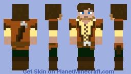 medieval standard skin (steve skin for medieval texture packs) Minecraft Skin