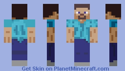 SSBU - 77 Steve (Amiibo Skin) Minecraft Skin