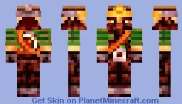 Dwarf Miner Minecraft Skin