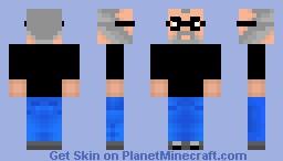 Steve Jobs Minecraft Skin