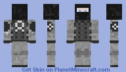 Facility Guard [SCP SL] Minecraft Skin