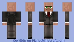 Mr. villager Minecraft Skin
