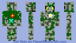Xyro The Overgrown Guardian Minecraft Skin