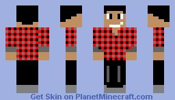 Crafter Minecraft Skin