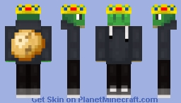 Turtle King Minecraft Skin