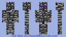 Bedrock golem Minecraft Skin