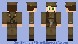 WW1 soldier Infantery 1914-1915 Minecraft Skin