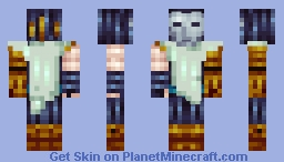 Jhin From league of legends Minecraft Skin
