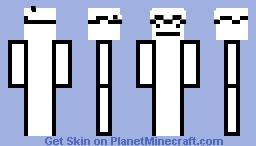 I Like Trains with Arms Minecraft Skin