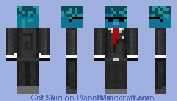 Coolest Squid ever ;) Minecraft Skin
