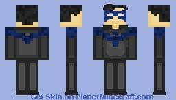 Nightwing Minecraft Skin