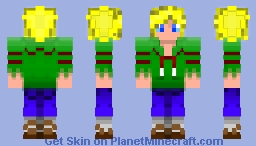 Greenshirt Harry Minecraft Skin