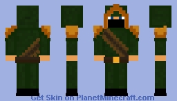Archer ranger Minecraft Skin