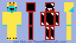 My Sleepy vs. now Skeepy Minecraft Skin