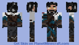 A more default version of the HD Skin Minecraft Skin