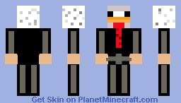 Business chicken Minecraft Skin