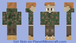 TimNorth1 Official Camo Skin Minecraft Skin